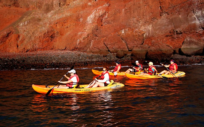 Kayaking on the Galapagos Family Vacation