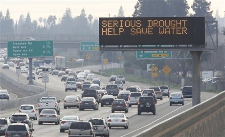 California Drought Browns Dilemma