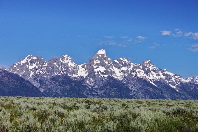 Grand Tetons tour