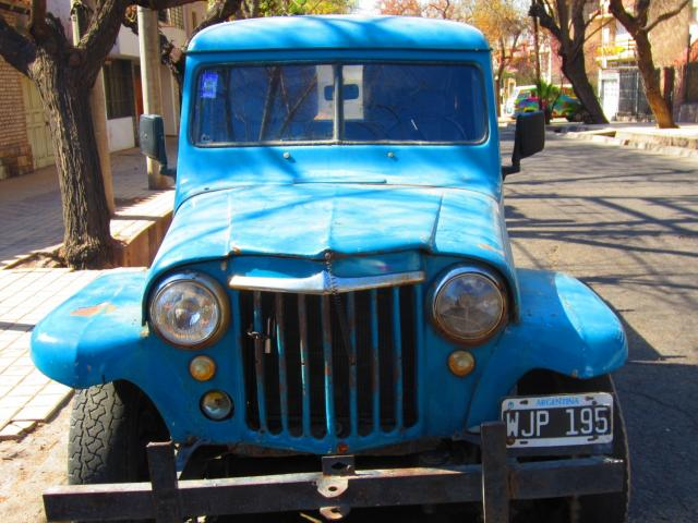 Old car in Argentina