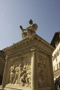 Satatue in Florence, Italy