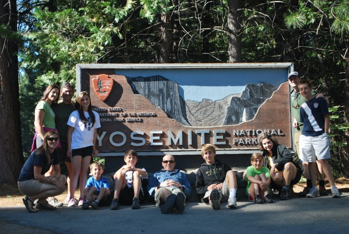 Yosemite Family Photo