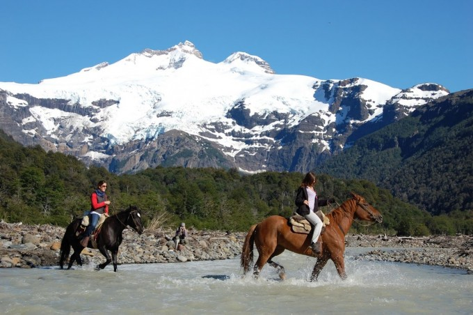 Riding Horses in Chile