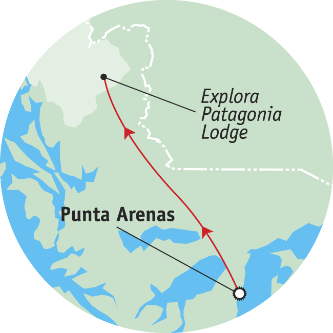 Patagonia Adventure Tour Map