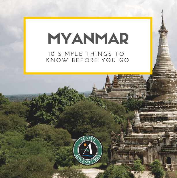 Myanmar thing to know