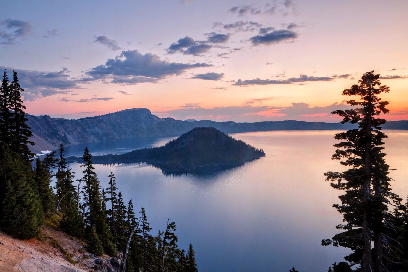 Cover image and view of Crater Lake for Best National Parks to Visit