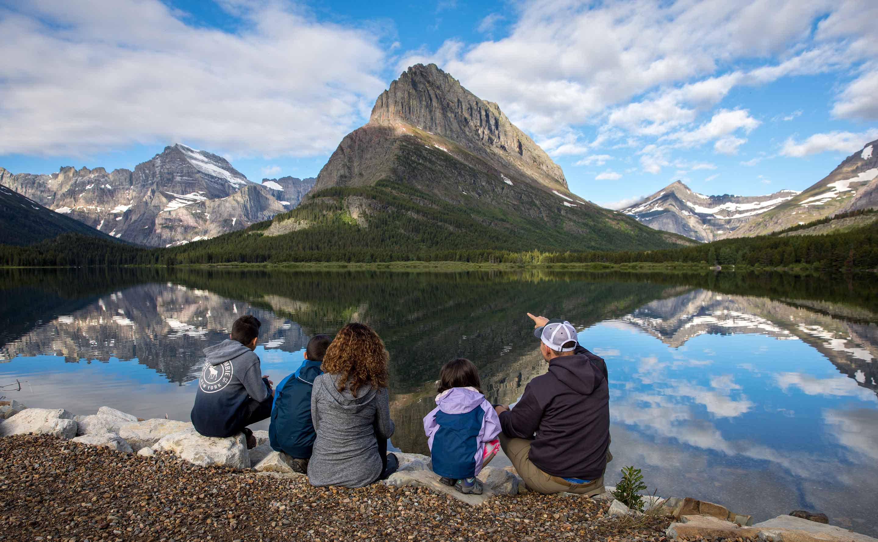 Family Friendly vacation to Glacier