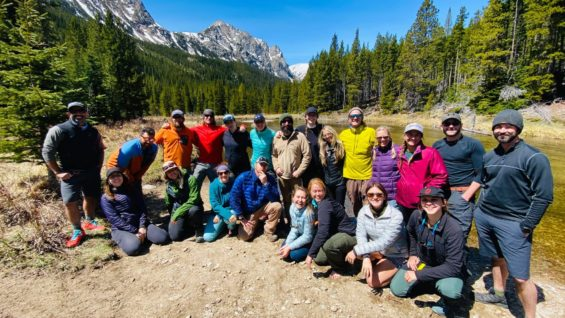North American Guides Group Photo